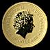 Australian Gold Kangaroo Nugget 2007 - 1/4 oz thumbnail