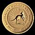 Australian Gold Kangaroo Nugget 1991 - 1/2 oz thumbnail