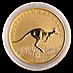 Australian Gold Kangaroo Nugget 2008 - 1/2 oz thumbnail