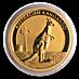 Australian Gold Kangaroo Nugget 2012 - 1/2 oz thumbnail