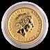 Australian Gold Kangaroo Nugget 2017 - 1/10 oz thumbnail