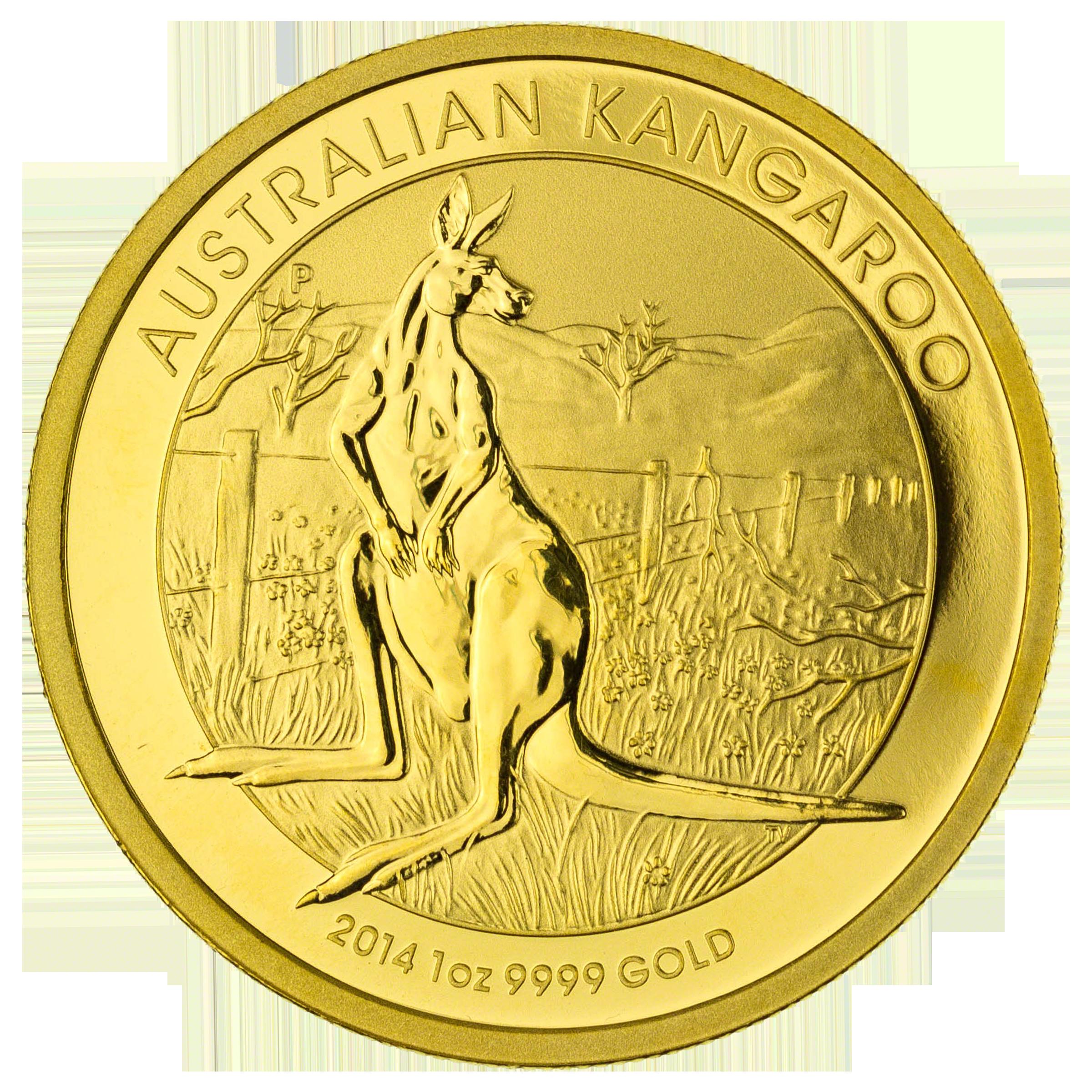 Gold Australian Platinum: Australian Gold Kangaroo Nugget 2014