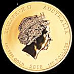 Australian Gold Lunar Series 2018 - Year of the Dog - 1 oz thumbnail