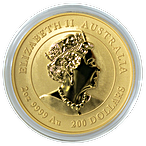 Australian Gold Lunar Series 2021 - Year of the Ox - 2 oz thumbnail