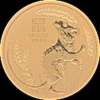 Australian Gold Lunar Series 2020 - Year of the Mouse - 1/4 oz thumbnail