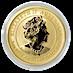 Australian Gold Lunar Series 2021 - Year of the Ox - 1 oz thumbnail