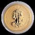 Australian Gold Lunar Series 2020 - Year of the Mouse - 1/2 oz thumbnail