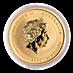Australian Gold Lunar Series 2016 - Year of the Monkey - 1/4 oz thumbnail