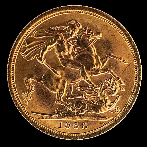 British Gold Sovereign - 7.32 g