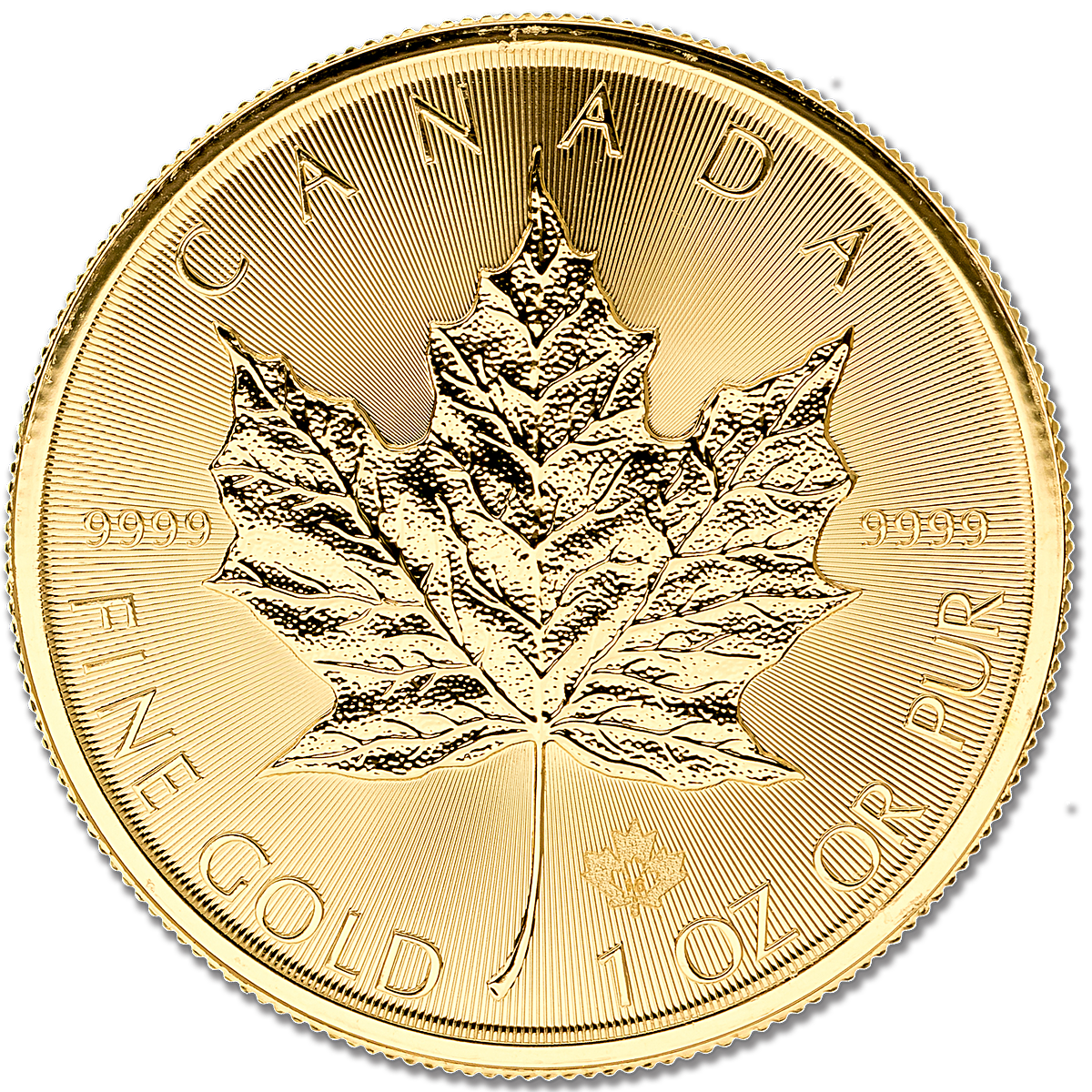 Canadian Gold Maple 2016 - 1 oz - BullionStar Singapore