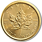 Canadian Gold Maple 2016 - 1/4 oz thumbnail