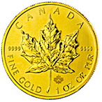 Canadian Gold Maple 2014 - 1 oz thumbnail