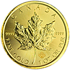 Canadian Gold Maple 2015 - 1 oz thumbnail