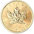 Canadian Gold Maple 2017 - 1 oz thumbnail