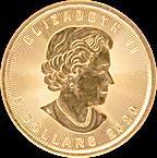 Canadian Gold Maple 2020 - 1/10 oz thumbnail
