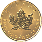 Canadian Gold Maple 2020 - 1/2 oz thumbnail