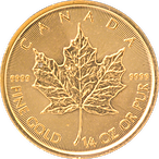 Canadian Gold Maple 2020 - 1/4 oz thumbnail