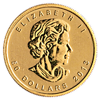 Canadian Gold Maple 2013 - 1 oz thumbnail