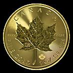 Canadian Gold Maple 2021 - 1 oz thumbnail