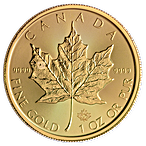 Canadian Gold Maple 2021 - 1 oz thumbnail