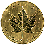 Canadian Gold Maple - Various years - 1 oz thumbnail