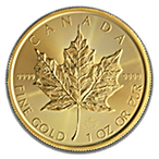 Canadian Gold Maple 2019 - 1 oz thumbnail