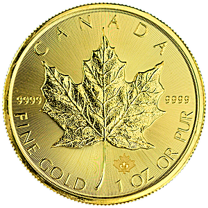 Canadian Gold Maple 2015 - 1 oz