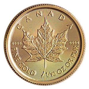 Canadian Gold Maple 2021 - 1/10 oz
