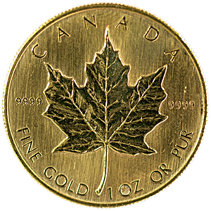 Canadian Gold Maple - Various years - 1 oz