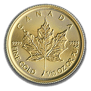 Canadian Gold Maple 2019 - 1/10 oz