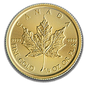 Canadian Gold Maple 2019 - 1/4 oz