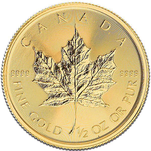 Canadian Gold Maple 2016 - 1/2 oz