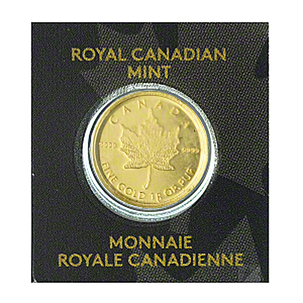 Canadian Gold Maple - Various Years - 1 g