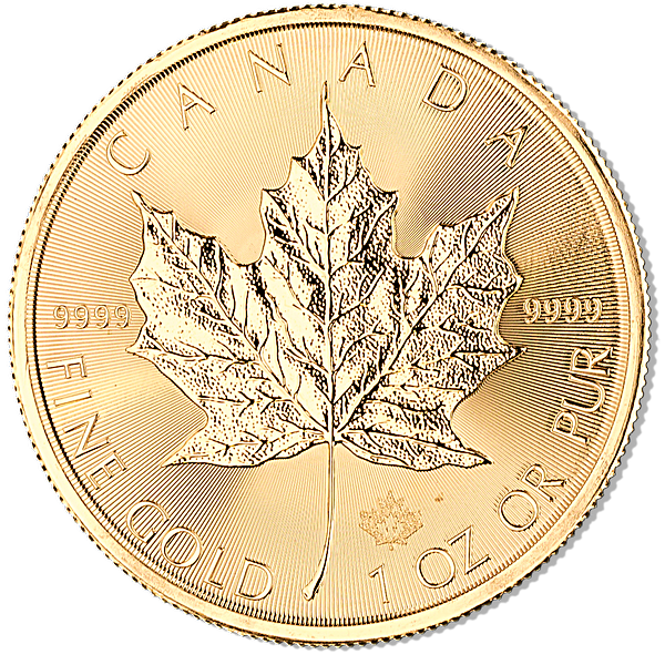 Canadian Gold Maple 2017 - 1 oz