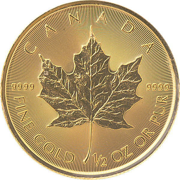 Canadian Gold Maple 2020 - 1/2 oz