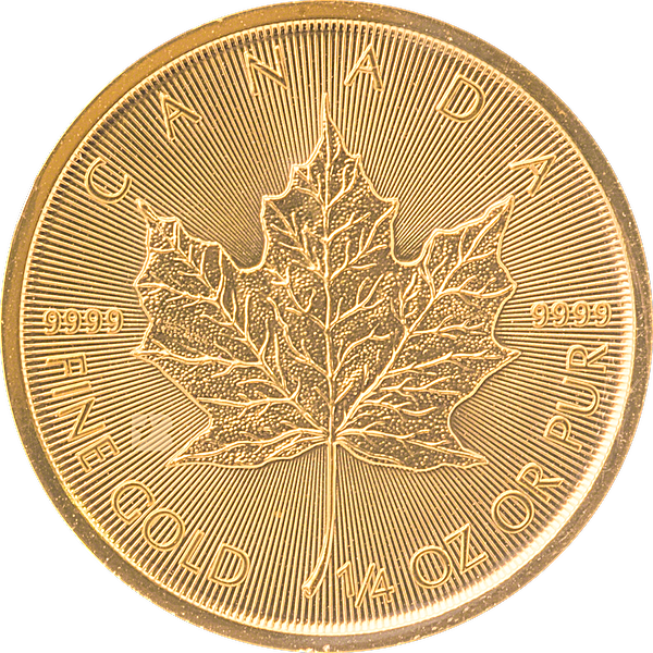 Canadian Gold Maple 2020 - 1/4 oz
