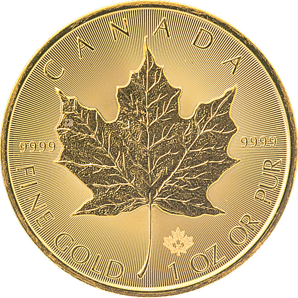 Canadian Gold Maple 2020 - 1 oz