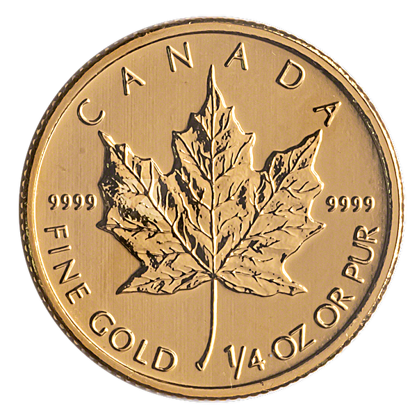 Canadian Gold Maple 2013 - 1/4 oz
