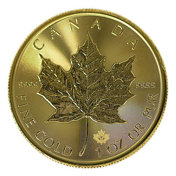 Canadian Gold Maple 2021 - 1 oz