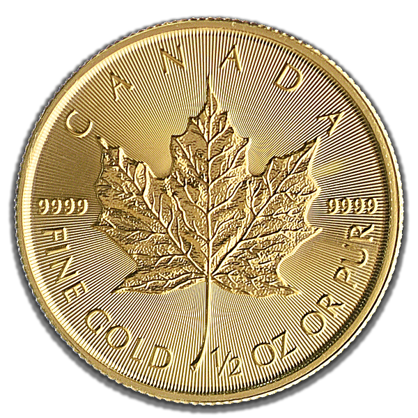 Canadian Gold Maple 2019 - 1/2 oz