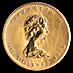 Canadian Gold Maple 1986 - 1/4 oz thumbnail