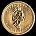 Canadian Gold Maple 1990 - 1/10 oz  thumbnail