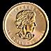 Canadian Gold Maple 2015 - 1/4 oz thumbnail