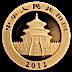 Chinese Gold Panda 2012 - 1 oz thumbnail