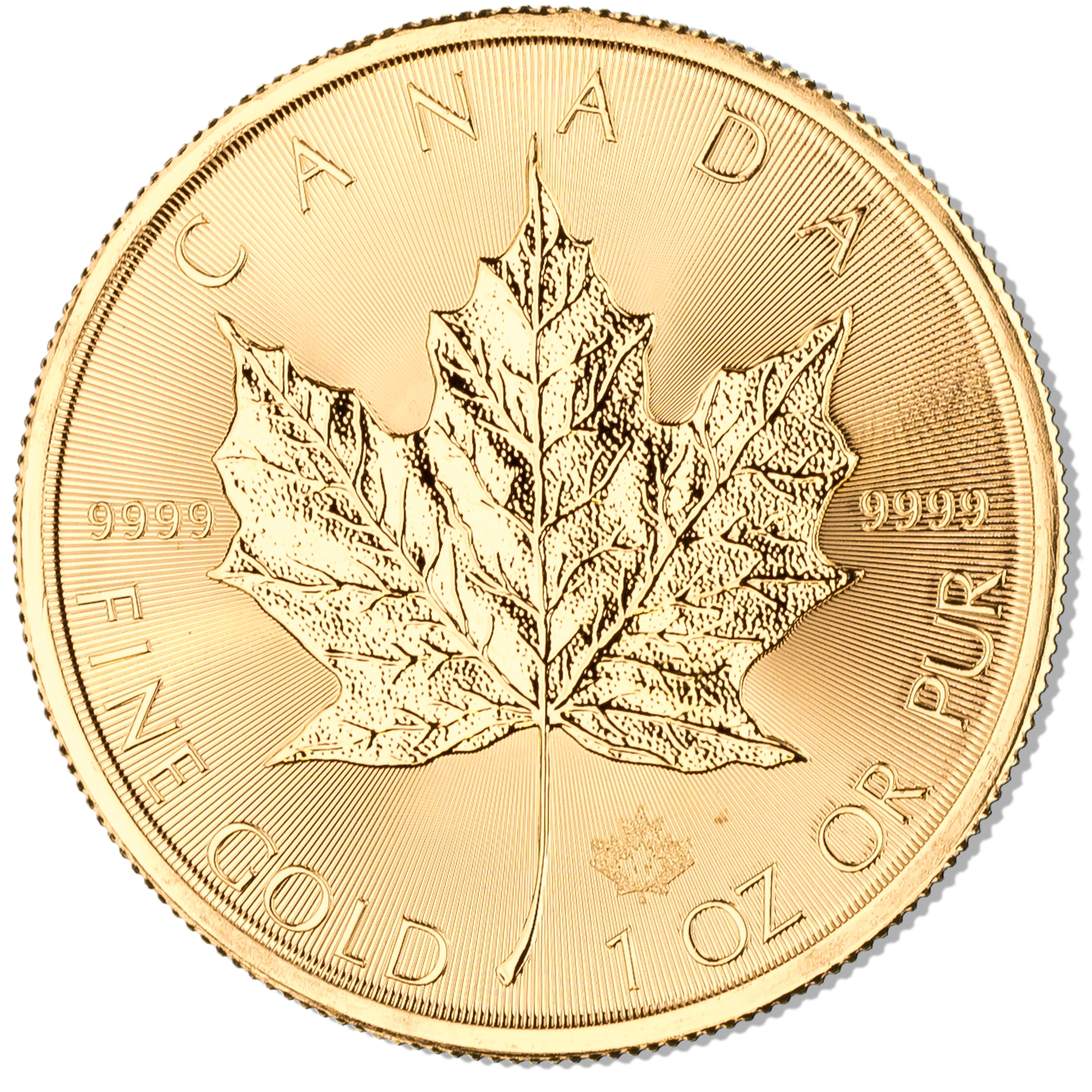 Canadian Gold Maple 2017 1 Oz Bullionstar Singapore