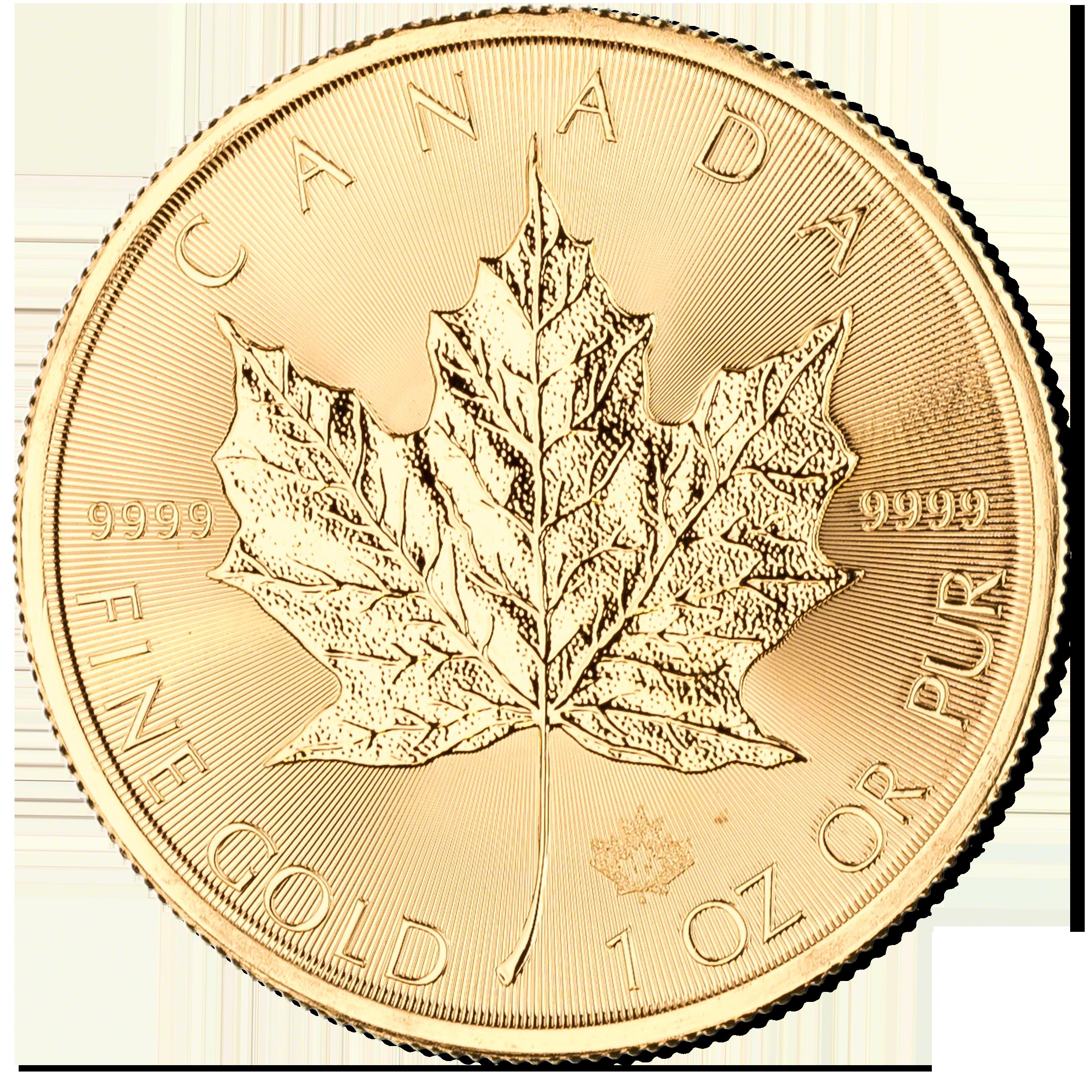 Canadian Gold Maple 2017 1 Oz Bullionstar Singapore