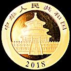 Chinese Gold Panda 2018 - 30 g thumbnail