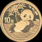 Chinese Gold Panda 2020 - 1 g thumbnail