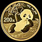 Chinese Gold Panda 2020 - 15 g thumbnail