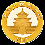 Chinese Gold Panda 2017 - 30 g thumbnail